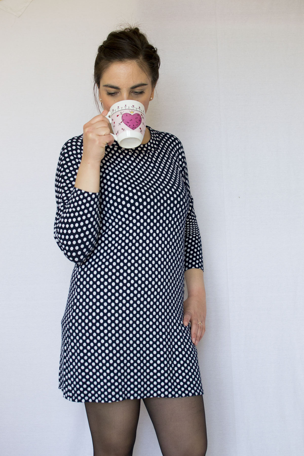 The Molly dresses: polka dots and black