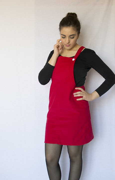 Cleo pinafore dress