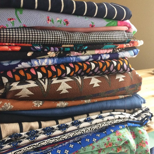 April's huge fabric haul and my sewing plans for May