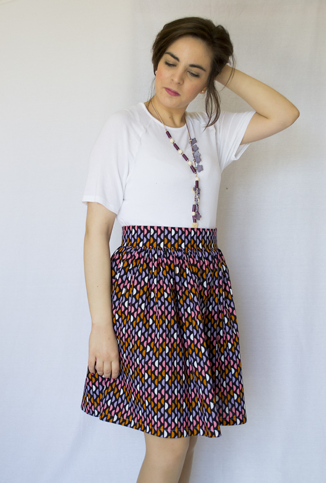 My Clemence skirt by Tilly and the Buttons