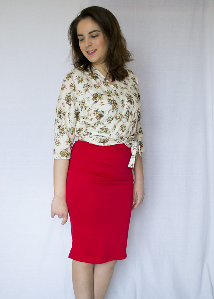 mimi g pencil skirt ella blouse