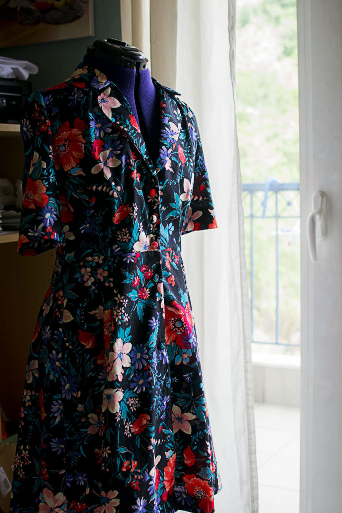 My first vintage shirt dress from Sew Over It