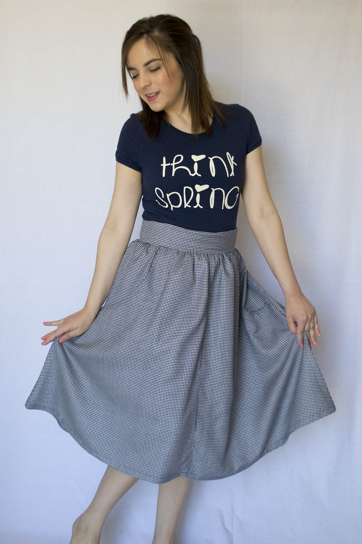 My Brumby Skirt by Megan Nielsen