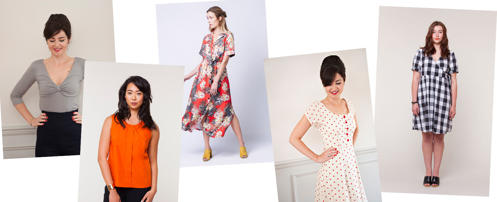 My favorite sewing patterns for May