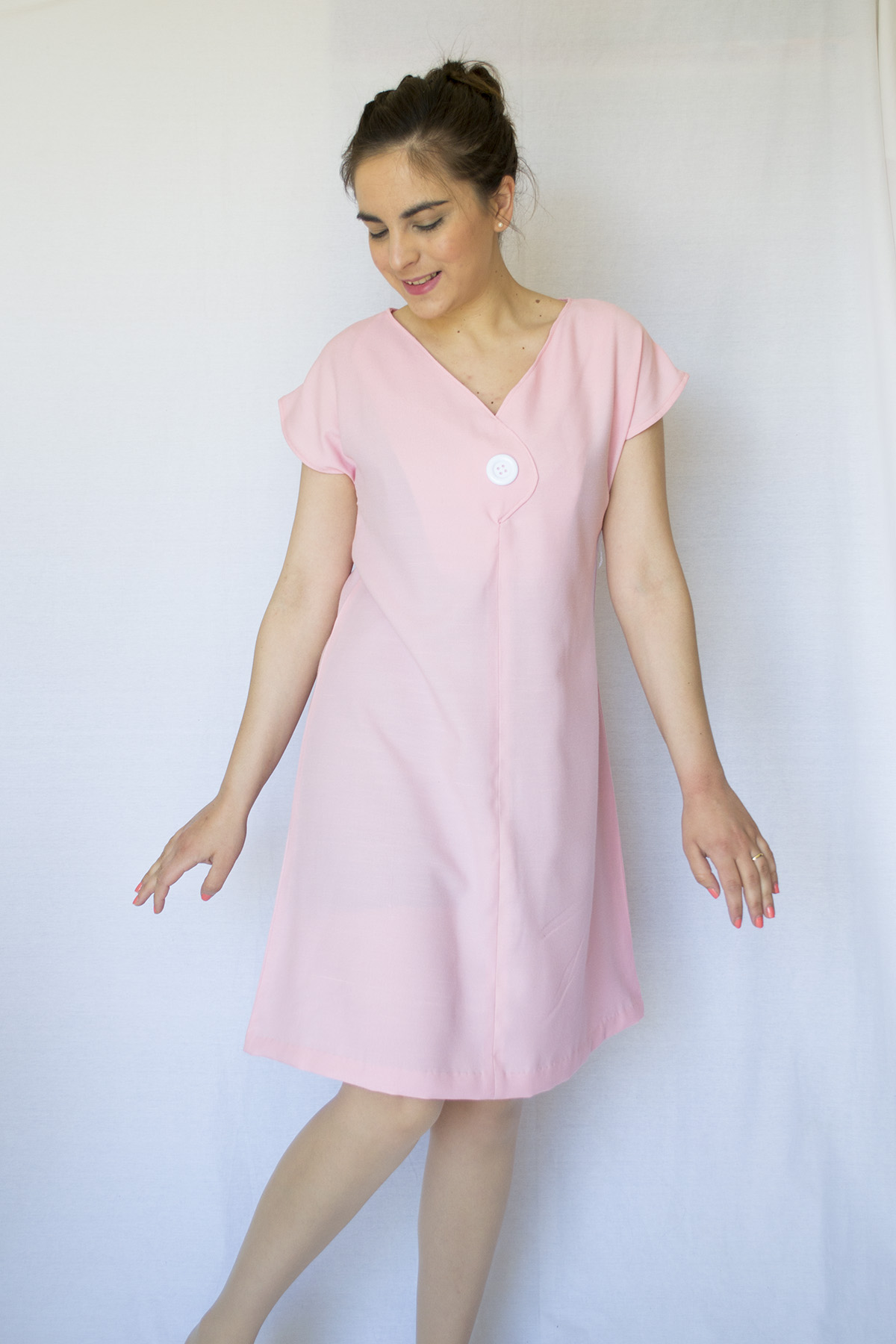 The Afternoon Shift Dress by Jennifer Lauren Handmade