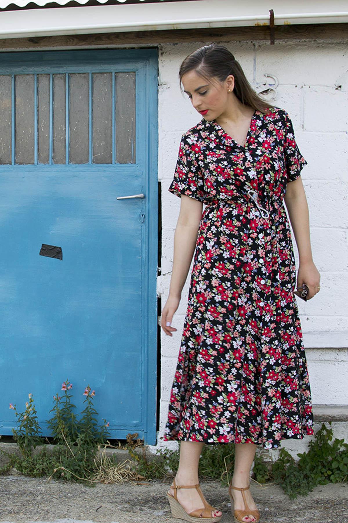 My floral Reeta dress