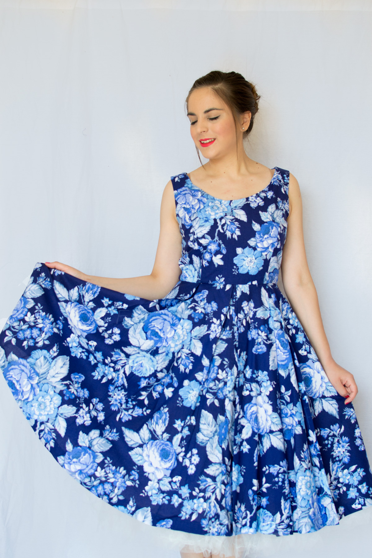my Elsie dress from Sew Over It