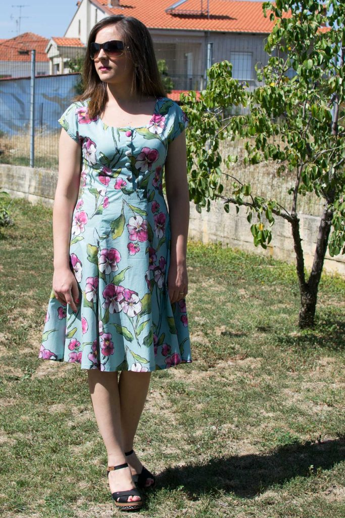 My floral Doris dress