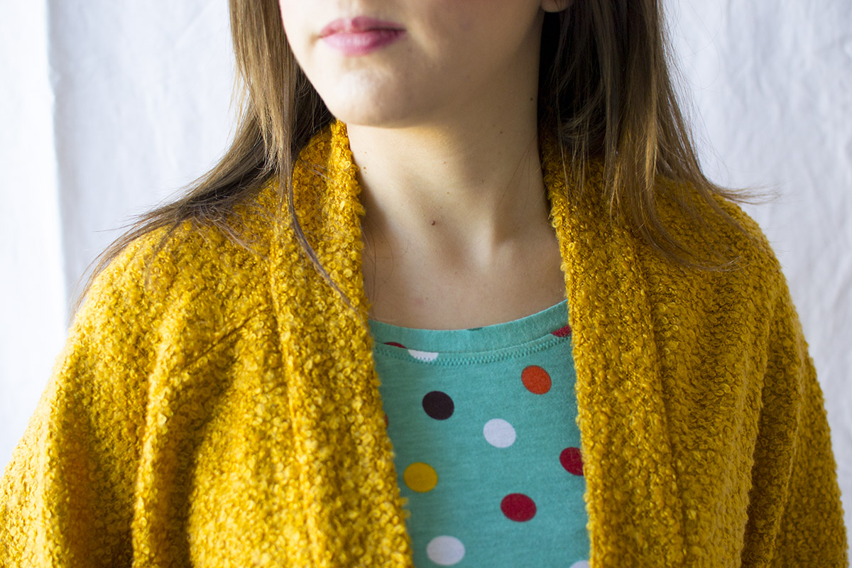 the Carrie Cardigan by Delia Creates
