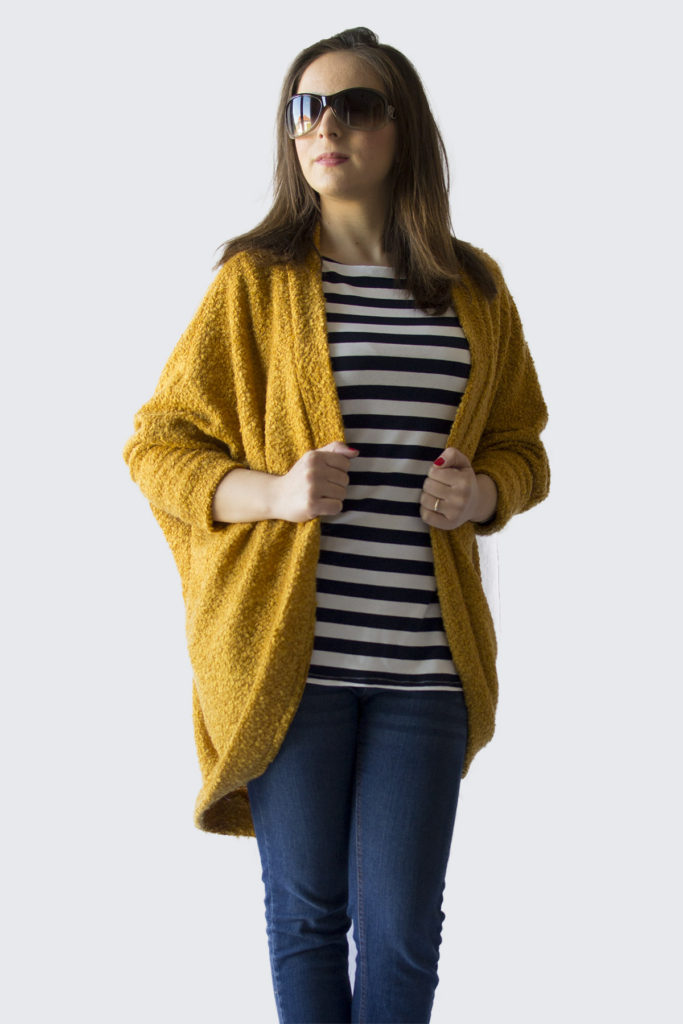Sewing the Carrie Cardigan by Delia Creates