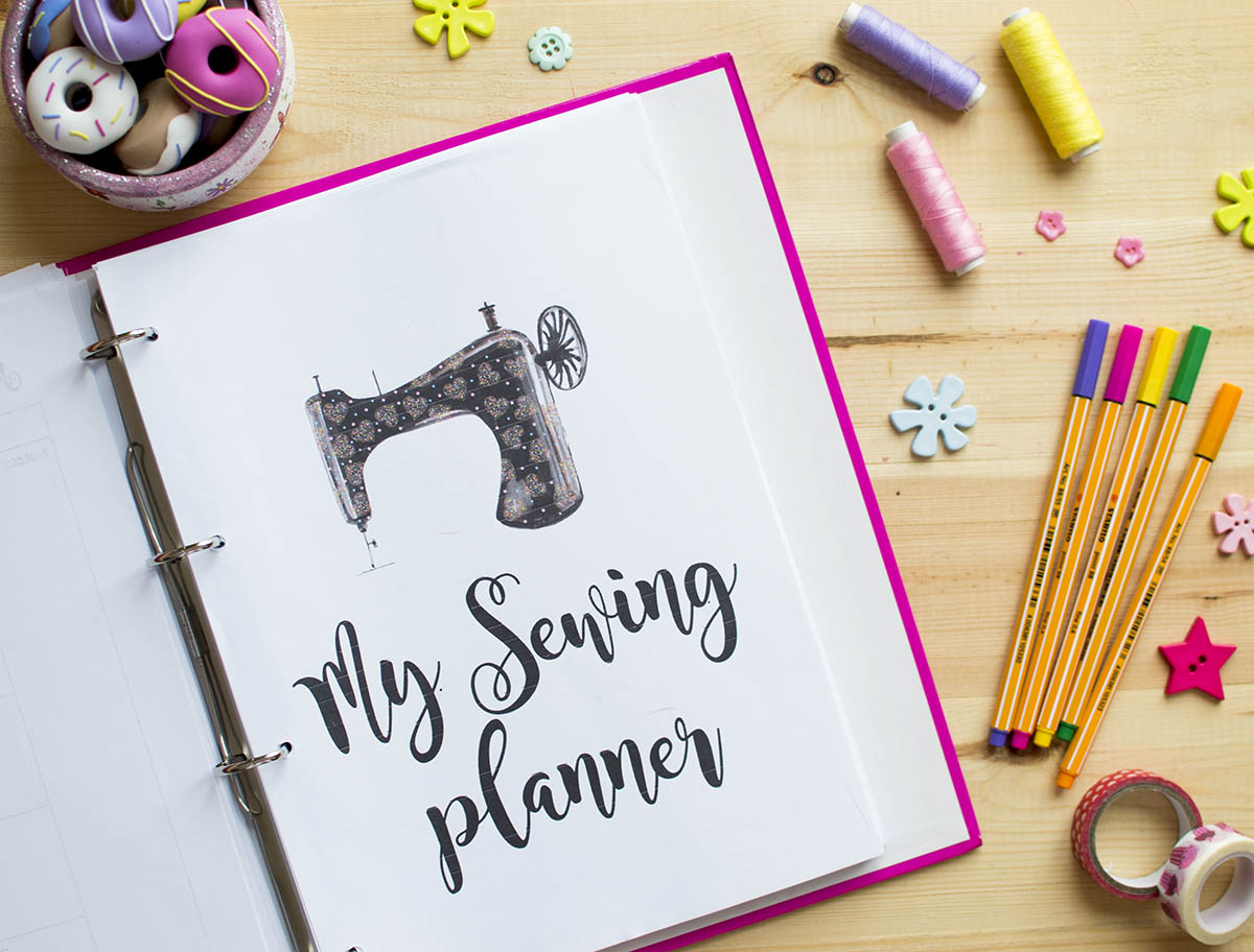 My Ultimate Sewing Planner for 2018