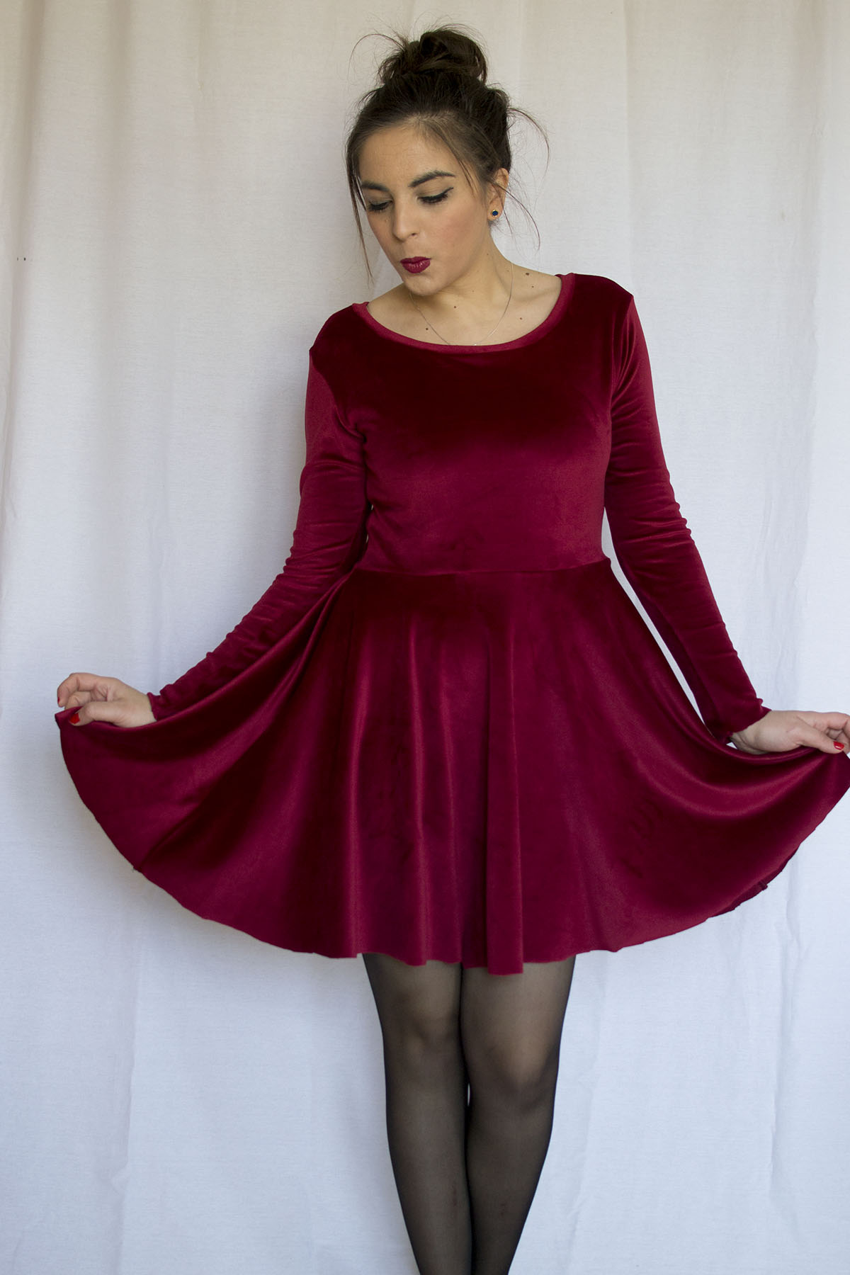 A little red dress