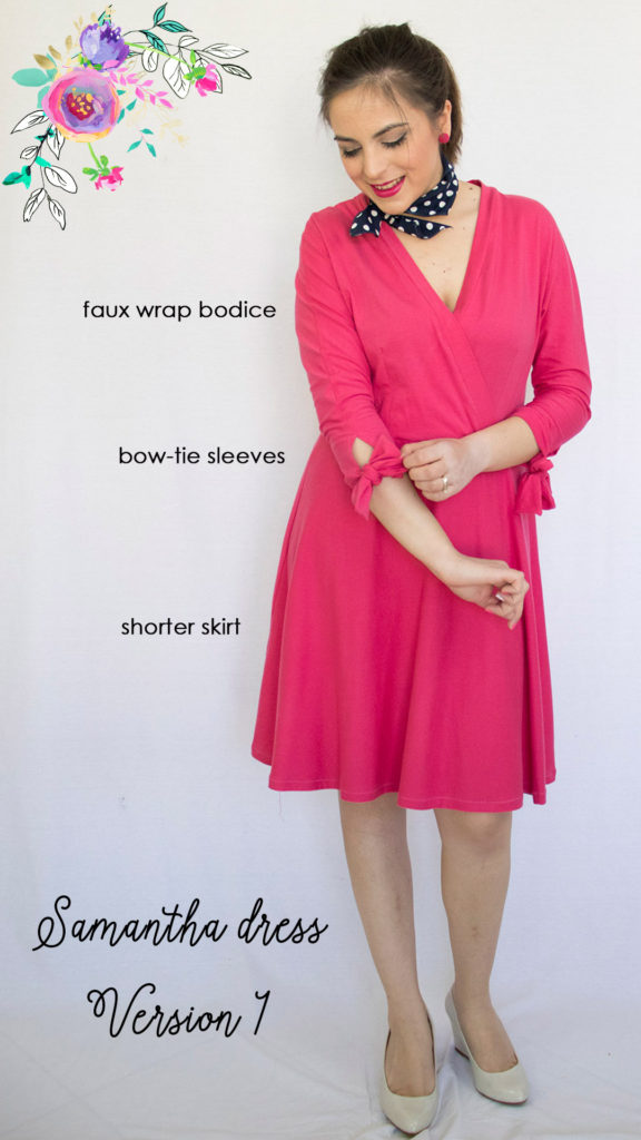 My 10+1 favorite wrap dress patterns - Athina Kakou