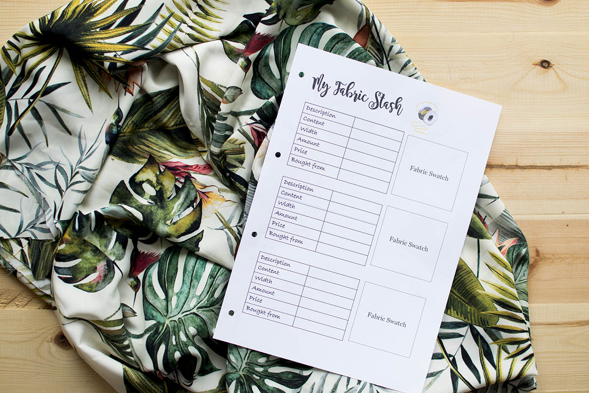 10 reasons why you need a sewing planner
