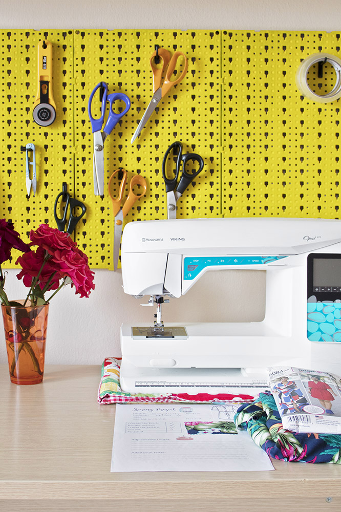 What's on my sewing table?