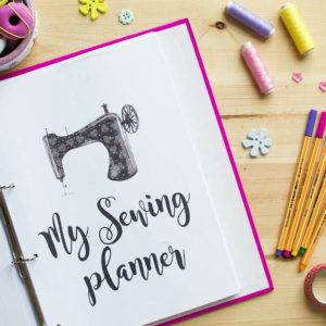 my ultimate sewing planner