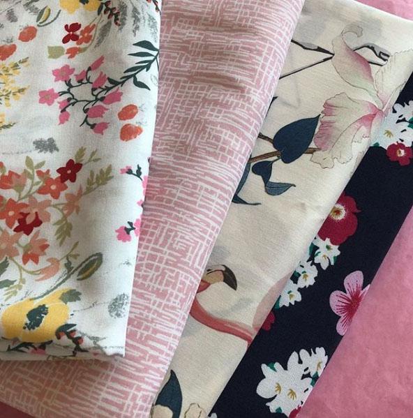 My recent mini fabric haul