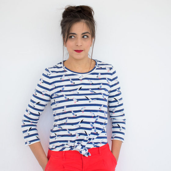 Sheona Hacks: making a tie front top