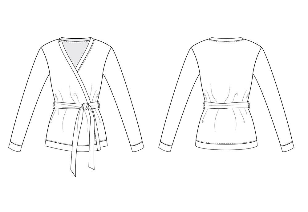 Nikki Cardigan - PDF sewing pattern - Athina Kakou