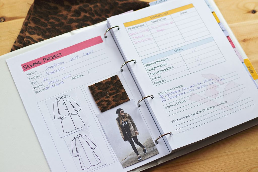 Simplicity 1197 coat by Athina Kakou
