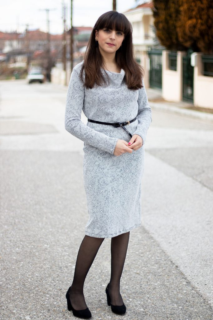Sew Over It cowl neck dress