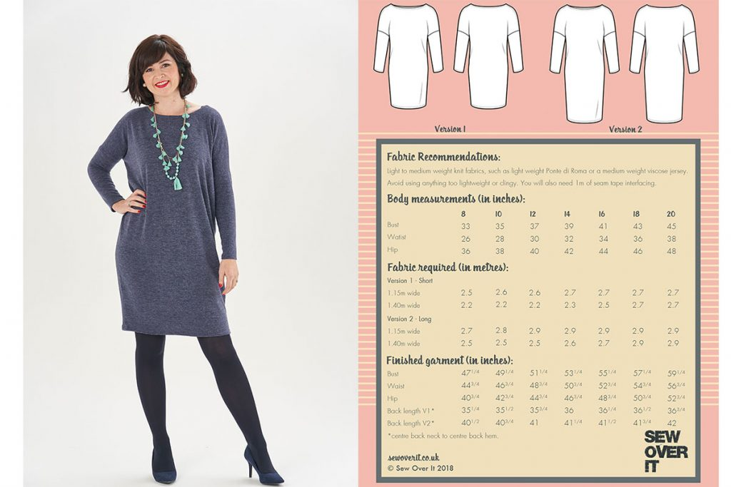 Thea dress pattern review