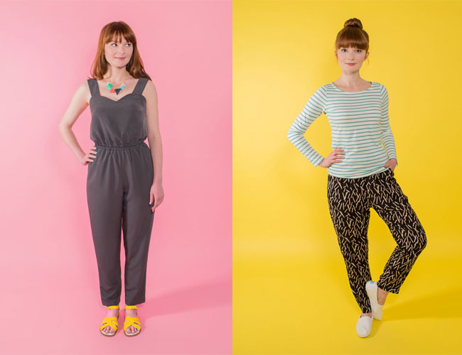 Marigold Jumpsuit Tilly and the Buttons