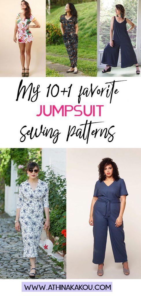 My 10+ 1 favorite jumpsuit patterns
