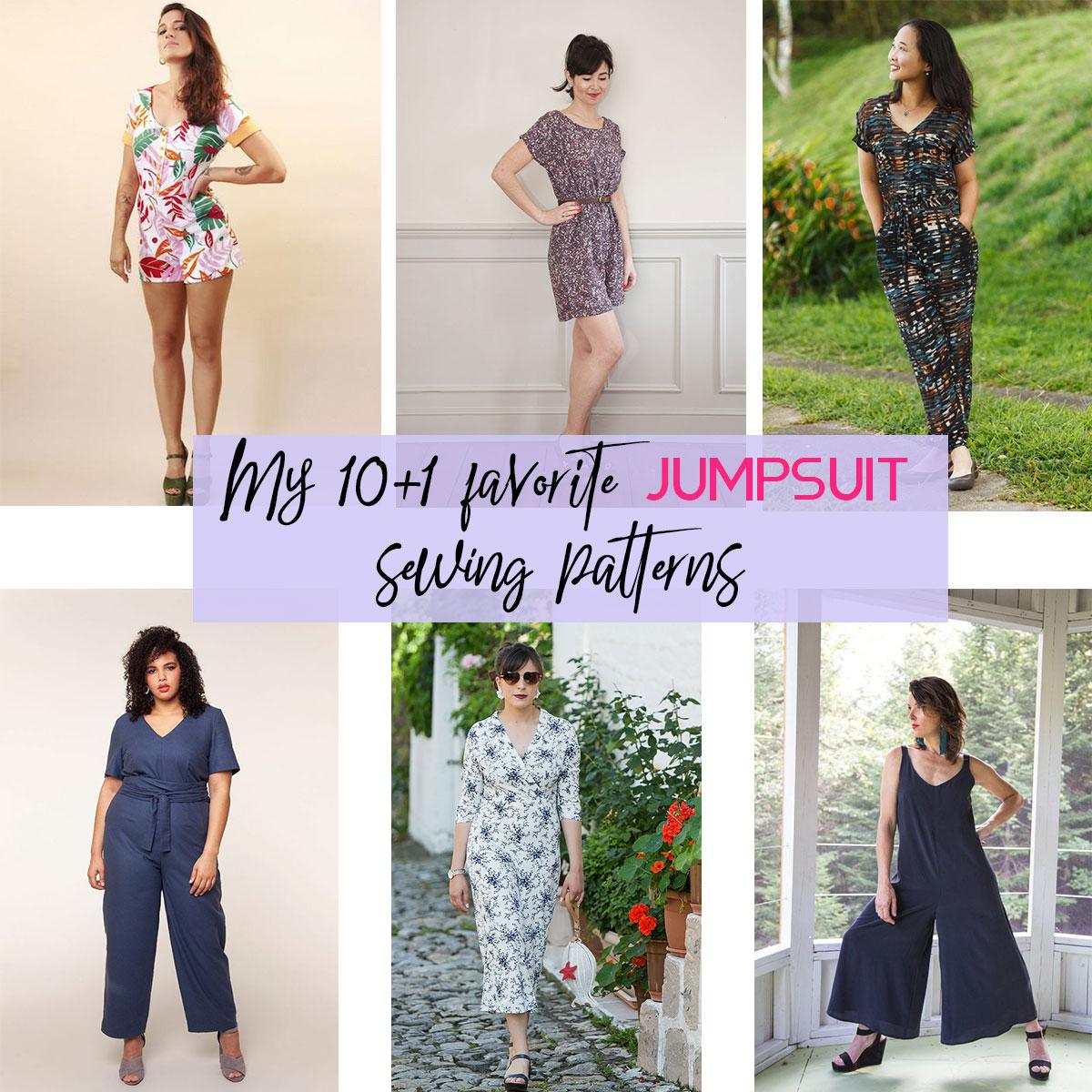 jumpsuit sewing patterns