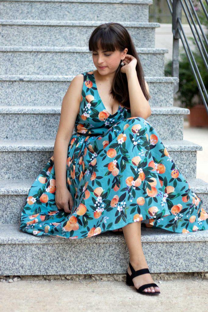 Spoonflower Lisa dress